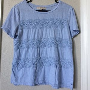 Loft powder blue super soft T-shirt